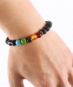 Chakra Bracelet on Wrist