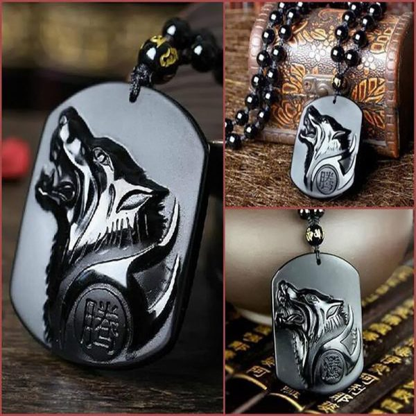 black-wolf-obsidian-necklace