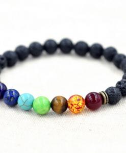 7 chakra healing balancing bracelet cover image