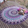 elephant mandala blanket