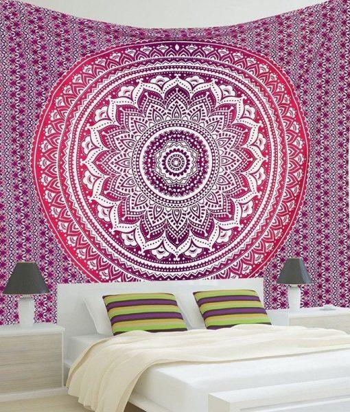 indian-mandala-tapestry-light-purple