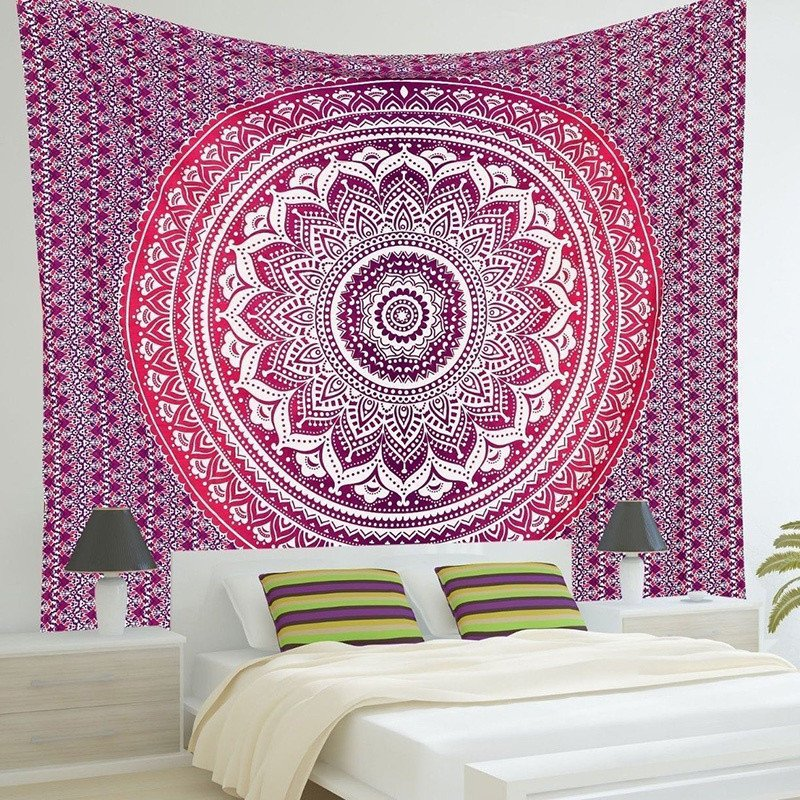 indian mandala tapestry - Bedroom Tapestry