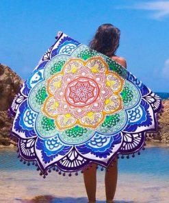 mandala-lotus-blanke-towel