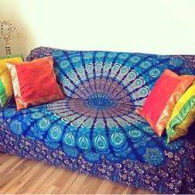 mandala sofa cover