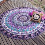 purple-elephant-mandala-blanket