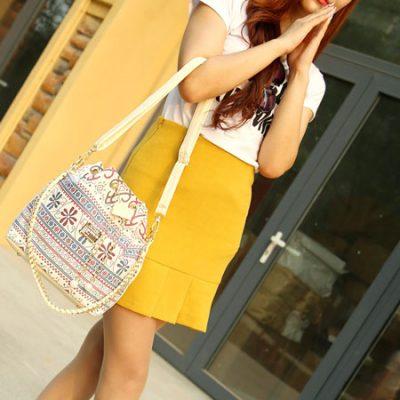 Bohemia Women Lady Summer Tote Bag