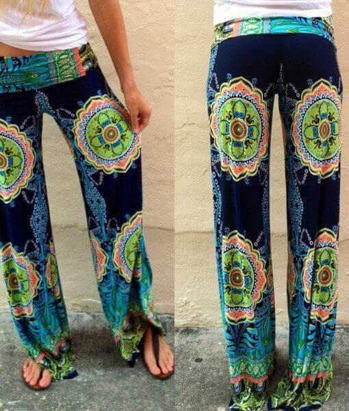 Wide Leg Beach Pants