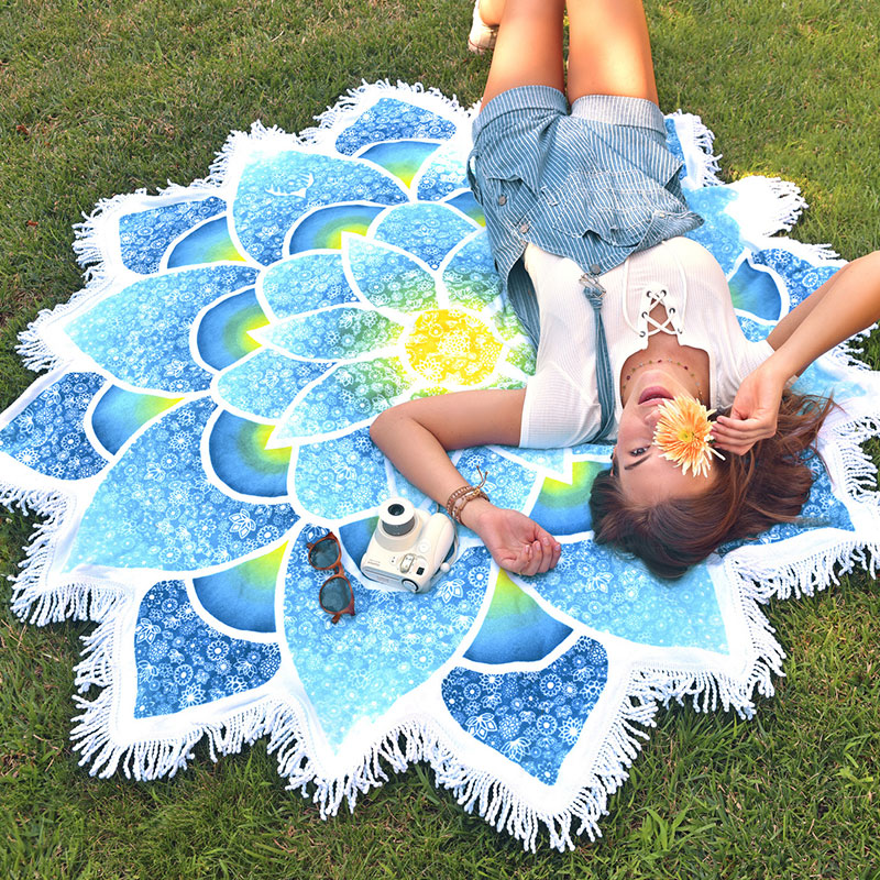 Outdoor Bohemian Beach Towel