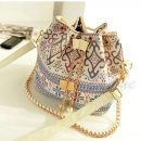 women lady summer bohemian tote bag