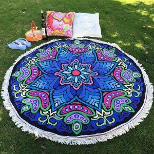 Round Mandala Beach Blanket