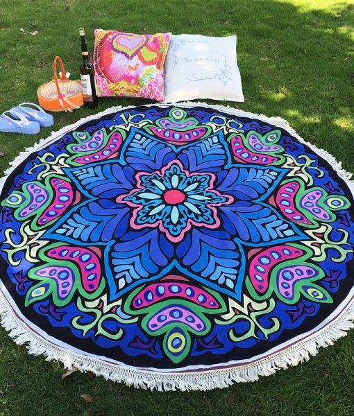 bohemian-mandala-yoga-beach-blanket