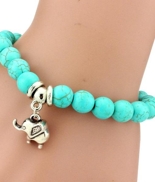 by elephant personalised lucky bracelet neatie
