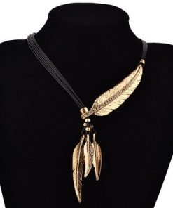 feather necklace meaning and shop