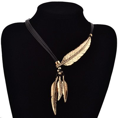 feather necklace of truth gold cover image