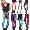 Galaxy Print Yoga Leggings
