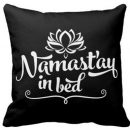Namaste Mandala Square Throw Pillow Case