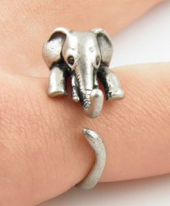 elephant wrap ring image