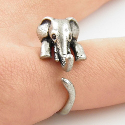 Elephant Wrap Around Ring