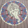 Antique Elephant Indian Bohemian Mandala Blanket