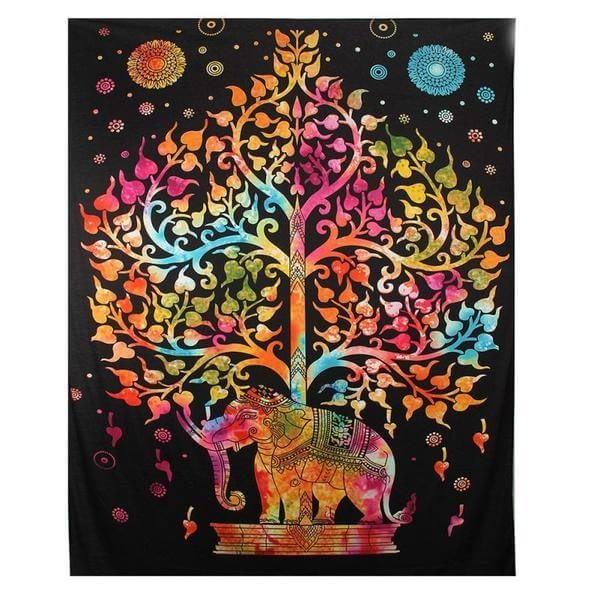 Tree Of Life Elephant Wall Hanging
