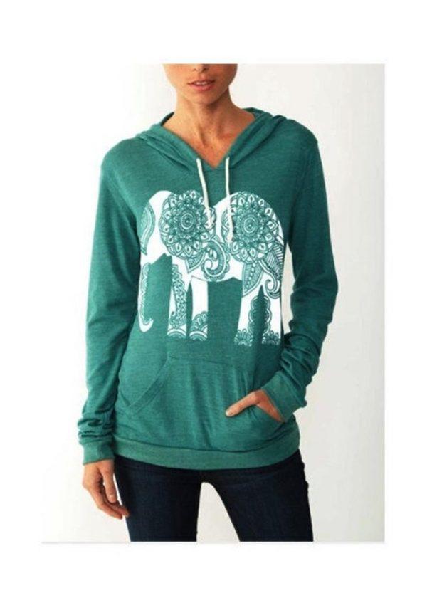 elephant sweatshirt hoodie