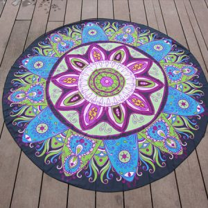 Flower like Mandala Blanket