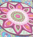 Boho Flower Beach Blanket