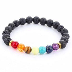 7 chakra stones bracelet image