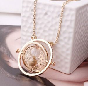 Rotating Hermione Time Turner Necklace