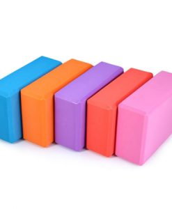 Sturdy foam yoga block