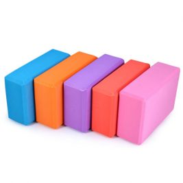 Sturdy foam yoga block