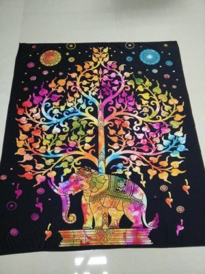 Elephant Tree Of Life Wall Hanging