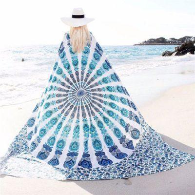 white-peacock-bohemian-blanket-1