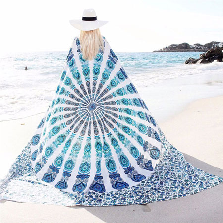 white-peacock-bohemian-blanket-1