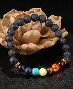 7 chakra stones bracelet