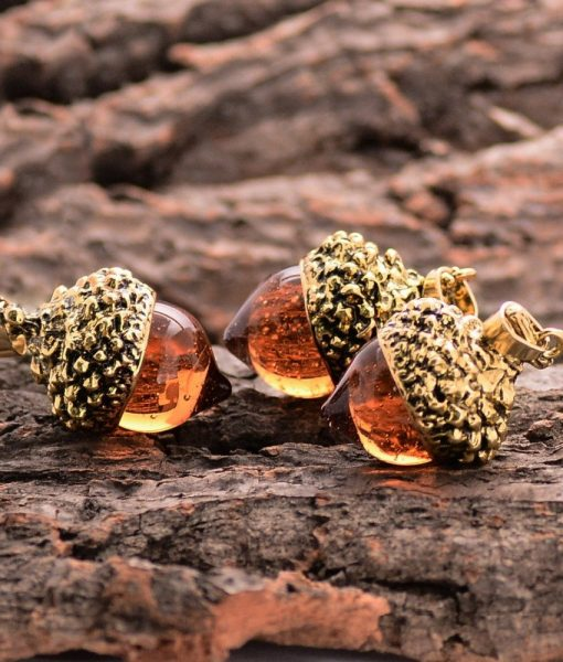 acorn-water-drop-pendant-necklace