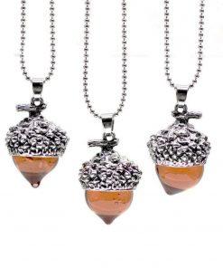 water drop pendant necklace silver