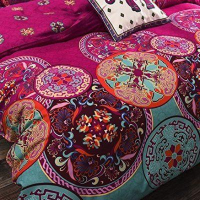 Bohemian Floral Cover set