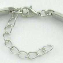 Cabochon Dome Lace Cuff Bracelets