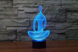 7 Color Changing Yoga Meditation Lamp
