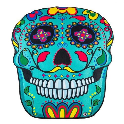 Ssugar skull beach towels photo
