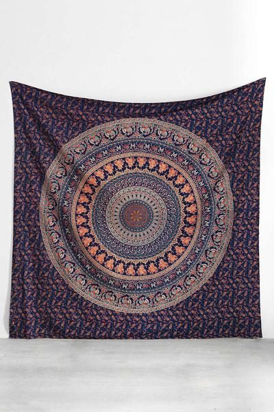 urban outfitters magical thinking mandala tapestry wall hanging