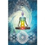 blue 7 Chakra Blanket photo image