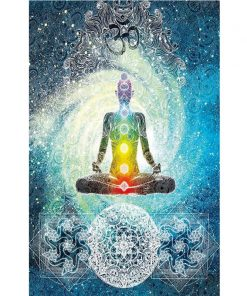 Spiritual Chakra Healing Blanket