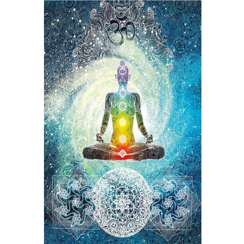 Spiritual Chakra Healing Blanket The Yoga Mandala Shop