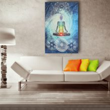 chakra wall hanging decoration image