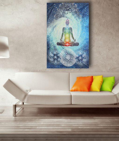 chakra wall hanging decoration image