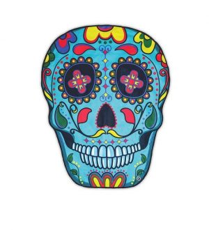 BigMouth Inc Gigantic Sugar Skull Beach Blanket photo image