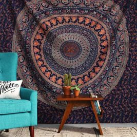 urban outfitters magical thinking mandala tapestry wall hanging image cover