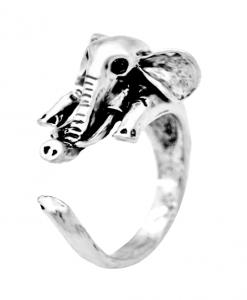 vintage elephant elephant hug ring image